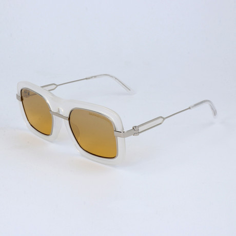 Men's CKNYC1880S Sunglasses // Milky White