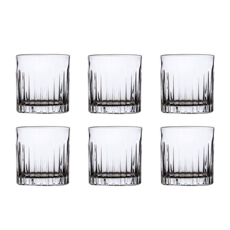 ECO CRYSTAL // Timeless Crystal Old Fashioned // Set of 6
