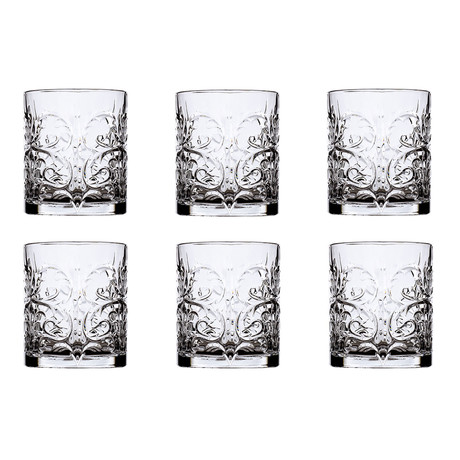 ECO CRYSTAL // Tattoo Old Fashioned // Set of 6