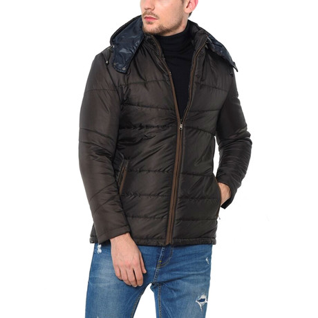 Marshall Coat // Brown (Small)