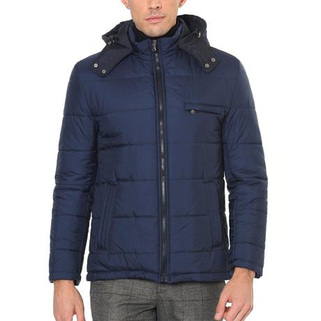 Robin Coat // Dark Blue (Small)