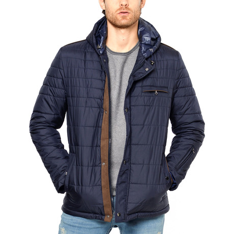 Garret Coat // Dark Blue (Small)