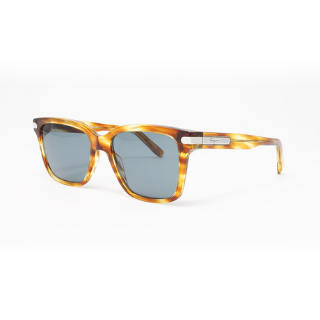 Men's Sunglasses // 55mm // Striped Caramel