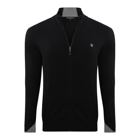 Zip Jacket // Black (XS)