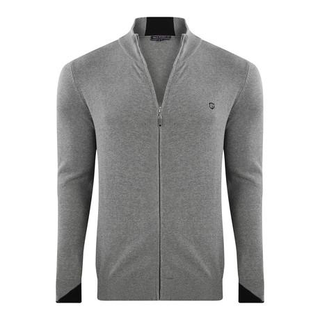 Zip Jacket // Gray Melange (XS)