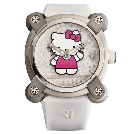 Romain Jerome Ladies Moon Invader Hello Kitty Automatic // RJ.M.AU.IN.023.01 // Store Display