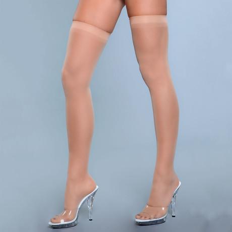 Best Behavior Thigh Highs // Nude // Set of 2
