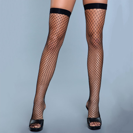 Catch Me If You Can Thigh Highs // Black // Set of 2