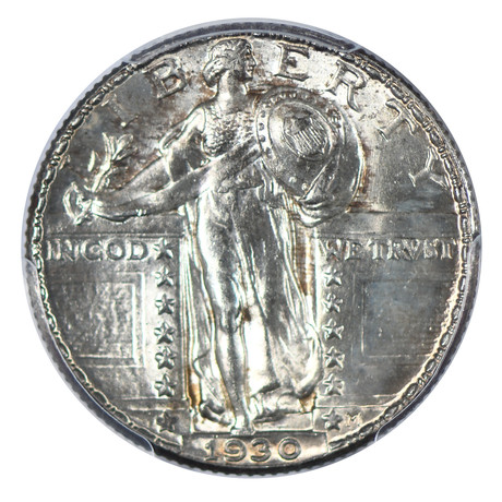 1930 Standing Liberty Quarter PCGS Certified MS65FH