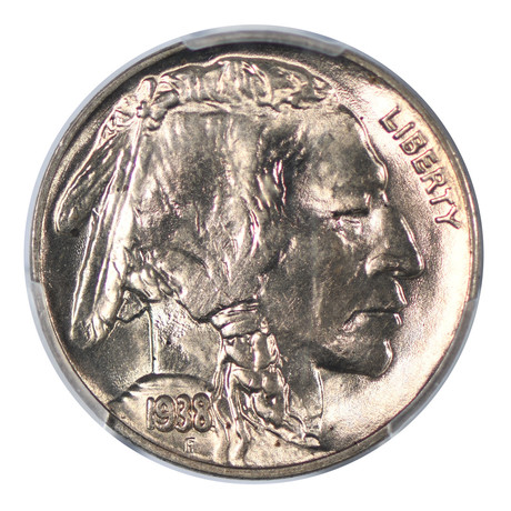1938-D/S Buffalo Nickel PCGS Certified MS66