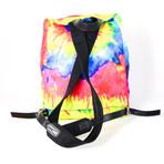 Women's Tie-Dye Nylon Backpack // Multicolor