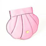 Boutique Women's Seashell Shoulder Bag // Pink