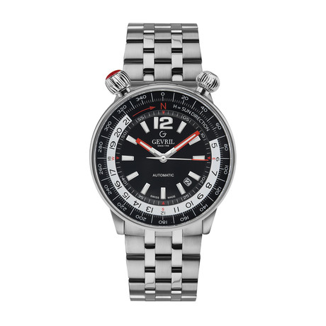 Gevril Wallabout Swiss Automatic // 48561