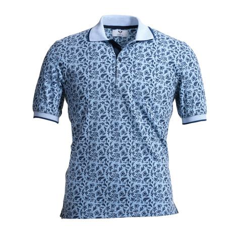 Dakota Polo Shirt // Light Blue (S)