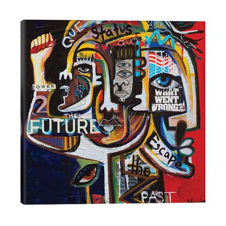 "Youth Revolt // Gabe Weis (26""W x 26""H x 1.5""D)"