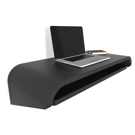 Minimal Wall Desk // Black (Small)