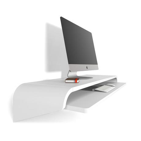 Minimal Wall Desk // White (Small)