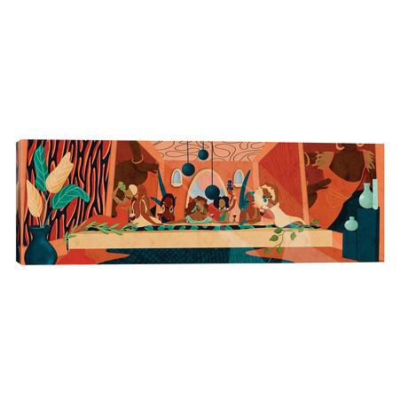 """Last Supper // Reyna Noriega (60""""W x 20""""H x 0.75""""D)"""