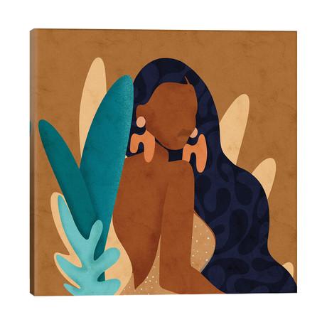"In Bloom Square // Reyna Noriega (26""W x 26""H x 1.5""D)"