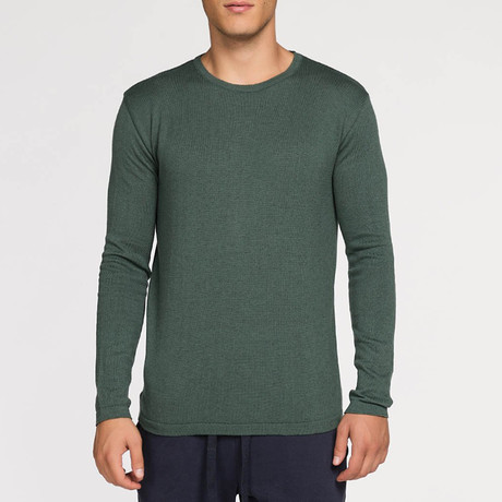 Crew Neck Sweater // Forest Green (S)