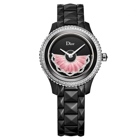 Dior Ladies Black VIII Automatic // CD123BE0C003 // New