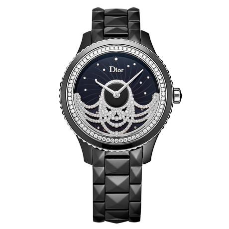 Dior Ladies Black VIII Automatic // CD124BE1C001 // New