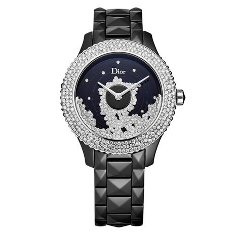 Dior Ladies Black VIII Automatic // CD124BE2C001 // New