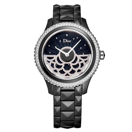 Dior Ladies Black VIII Automatic // CD124BE0C002 // New