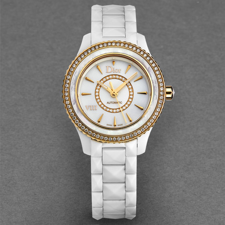Dior Ladies White VIII Automatic // CD1235H1C001 // New