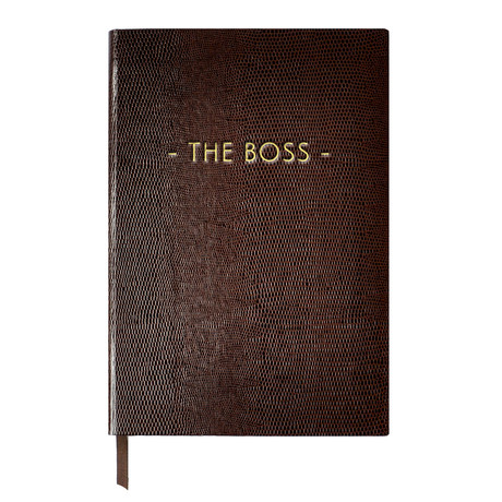 The Boss // Chocolate (Small Book)