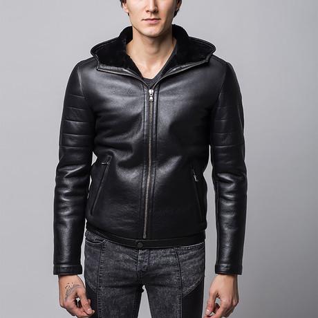 Connor Leather Jacket // Black (Euro: 46)