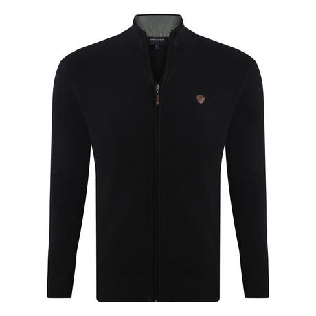 Zip Sweater // Black (S)