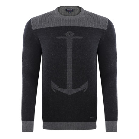 Anchor Pullover // Antracite + Black (XS)