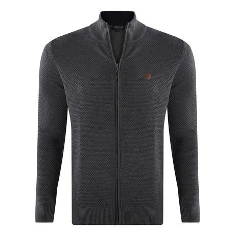 Zip Sweater // Anthracite (S)