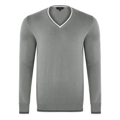 V-Neck Pullover // Mint (S)