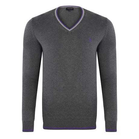 V-Neck Pullover // Anthracite (S)