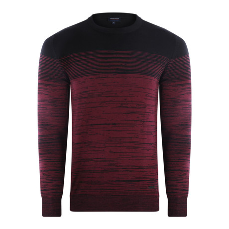 Sedona Pullover // Black + Purple (S)