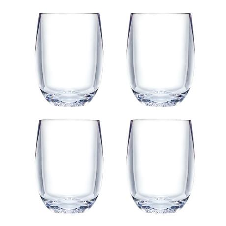 Strahl // Design+ Osteria Stemless Chardonnay // Set of 4