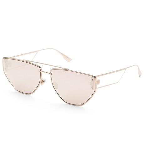 Women's Diorclan Sunglasses // Rose Gold