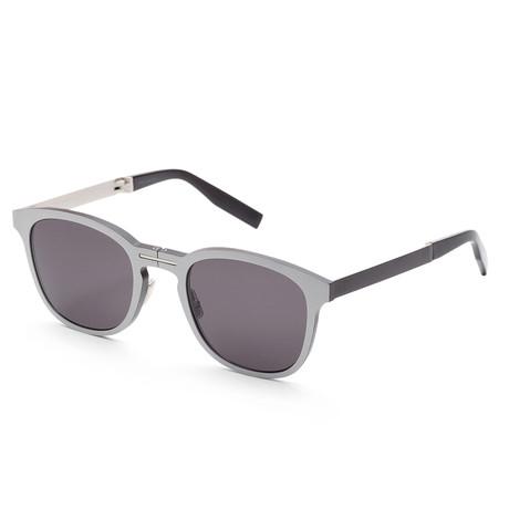 Men's AL13 Sunglasses // Matte Palladium + Gray