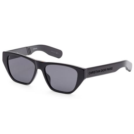 Women's Direction Sunglasses // Black + Gray