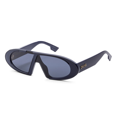Women's Oblique Sunglasses // Navy Blue