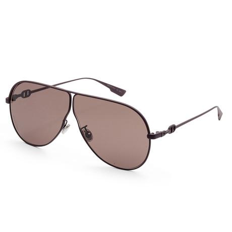 Women's Diorcamps Sunglasses // Matte Brown + Brown