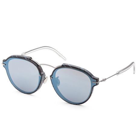 Women's Dioreclat Mania Sunglasses // Black Marble + Blue