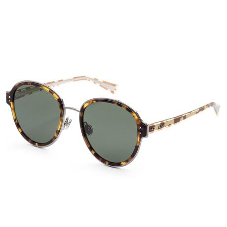 Women's Diorcelestial Sunglasses // Light Havana + Green