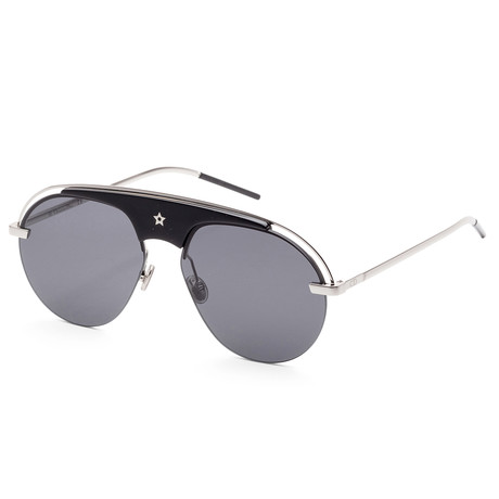 Women's Evolution Sunglasses // Silver + Black