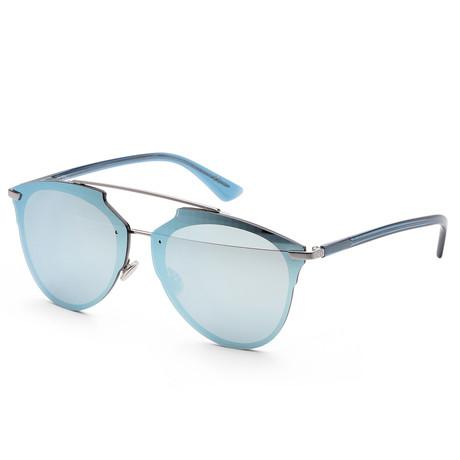 Women's Reflected Sunglasses // Blue