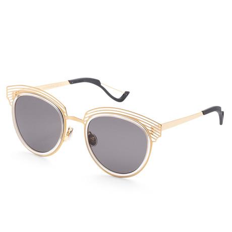 Women's Enigme Sunglasses // Gold + Gray