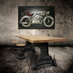 Steampunk Adjustable Table Base