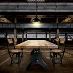 Industrial Adjustable Table Base